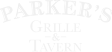 parker's grille & tavern branding in white